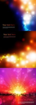 Dream light dot background vector design