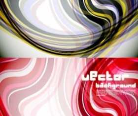 particular dynamic lines background vector