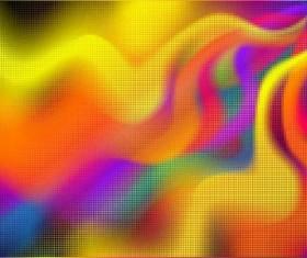 Shiny wave color background Illustration vector