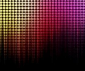 Rainbow light shiny background vector