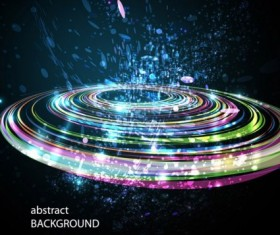 abstract technology background art vector 01