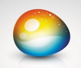 Brilliant web colorful background vector set 05