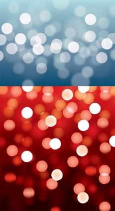 Blurs light dots backgrounds vector