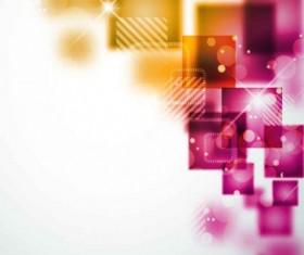 Shiny square background design vector