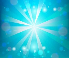 Sunlight with blue sky vector background
