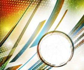Abstract elements with Garbage background vector