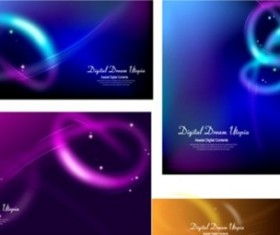 Intersection Shiny background vectors material