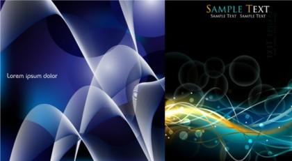 3D Blue textured background Illustration vector