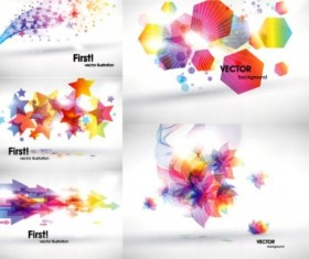 Fantasy simple background graphics vector