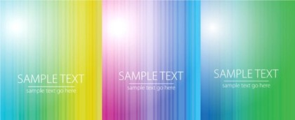 Refreshing colorful striped background vector