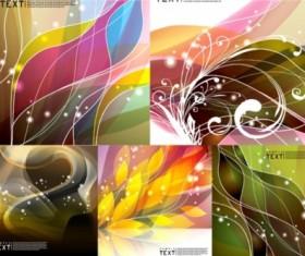 Special floral design background vector
