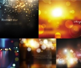 Dream sunset with night background vector