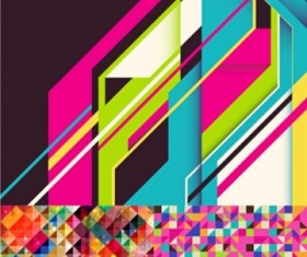 Colorful grid background Illustration vector