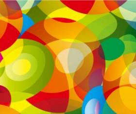 Colored fantasy aperture background vectors material