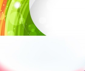 Dynamic abstract art background vector