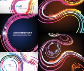 Track dynamic background color vectors material