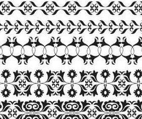 Ornament Borders art vectors