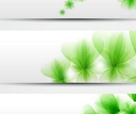 Natural Banners vector