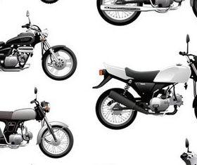 Motorcycles free shiny vector
