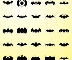 Bat Graphics vector design