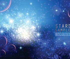 starry space background vector