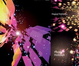 dazzling color background space vectors graphic