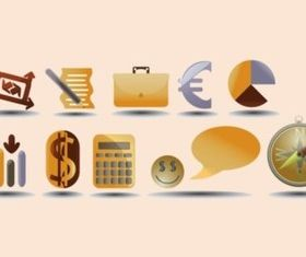 Multi Purpose Icons vector