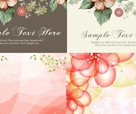 Bright elegant pattern background vectors