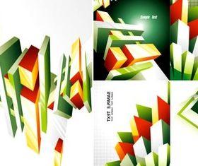 three-dimensional graphics background vectors
