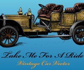Antique Car vector