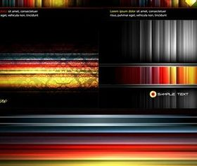 Colorful striped background vectors graphics