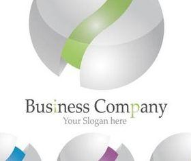 Company Round Logo art vector