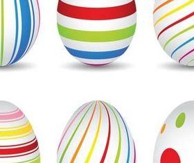 Easter Eggs Set free creative vector