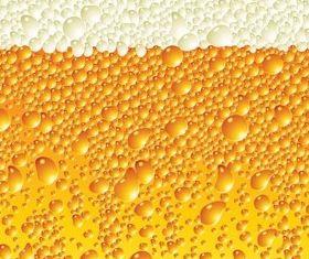 beer foam background vector graphics