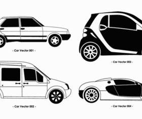 Different Car Set vectors