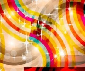 Colorful ring glare background design vector