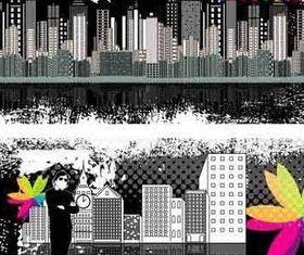 Vintage Grunge Urban Banners vectors
