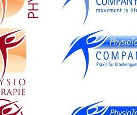 Different Fitness Sport Logos design vectors