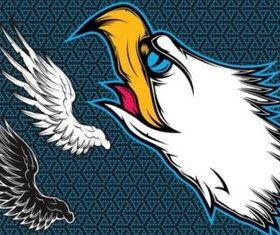 Eagle Wings creative vector