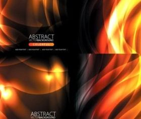 Flame background dynamic Different vector