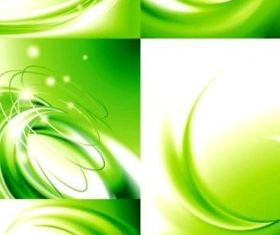 Bright green tourism background vector