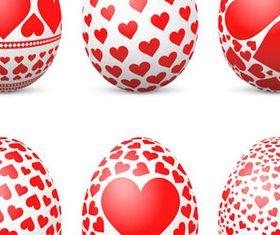 Easter Eggs Illustration 1 vector