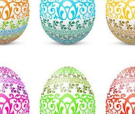 Easter Eggs Illustration 2 vector