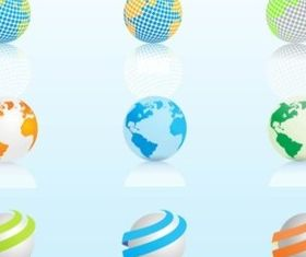 Globe Graphics vector