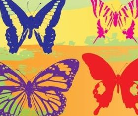Butterflies Graphics vector