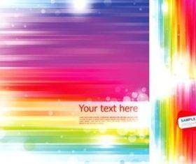 fresh fashion colorful striped background vectors graphics