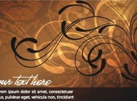 Elegant fashion banner background vectors