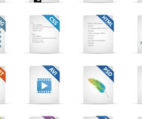 Different Software Icons 2 vectors graphics