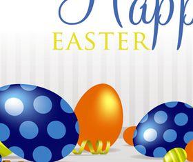 Happy Easter Backgrounds 2 vector