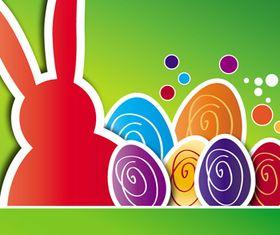 Happy Easter Backgrounds 3 creative vector